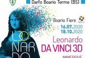 Dal 16 luglio al 18 ottobre 2020 - Leonardo da Vinci 3D - Darfo Boario Terme (VS)