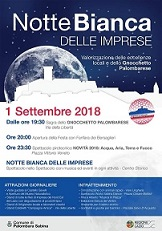 1 settembre 2018 - Notte Bianca delle Imprese a Palombara Sabina (RM)