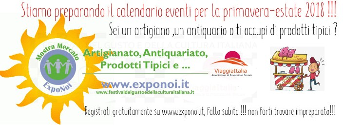 registrati come espositore